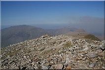 SH6359 : The northern end of Y Garn summit by Bill Boaden