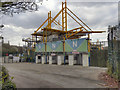 SK3888 : Don Valley Stadium, Away (Visitors') Turnstiles by David Dixon