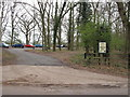 TM0580 : Car Park Entrance Redgrave & Lopham Fen by Roger Jones