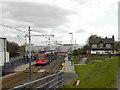 SK3687 : Cricket Inn Road Tram Stop by David Dixon