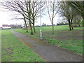 SE2640 : Holt Park - off Holt Road by Betty Longbottom