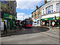 SK3389 : Tram on Middlewood Road by David Dixon