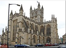 ST7564 : Bath Abbey by Julian P Guffogg