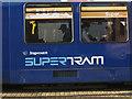 SK3587 : Supertram logo by Robin Stott