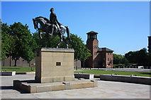 SK3536 : Bonnie Prince Charlie Statue by Francis Dolman