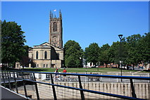 SK3536 : Derby Cathedral (All Saints) by Francis Dolman