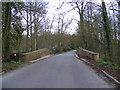 TM3861 : Benhall Bridge & the B1121 Church Hill by Adrian Cable