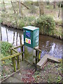 TM3861 : Benhall Bridge Gauging Station by Adrian Cable