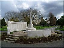 TQ2672 : War memorial in Streatham Cemetery by Marathon