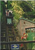SS7249 : Lynmouth Funicular Railway by Len Williams