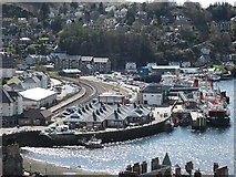 NM8529 : Oban's Railway Quay by Patrick Mackie