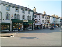 SH5638 : Porthmadog : High Street north of New Street by Jaggery