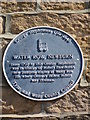 Photo of George Stephenson blue plaque
