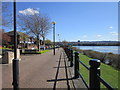 NZ2262 : The path along the River Tyne by Ian S