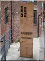 SK3588 : Steel sign for Kelham Island Museum by Robin Stott