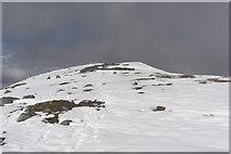 NN1332 : Beinn Eunaich: height 989 m, prominence 425 m by Roddy Urquhart