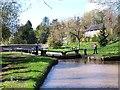 SJ5659 : Tilston Lock, Shropshire Union Canal by David Martin