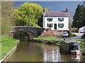 SJ5136 : House beside Platt Lane Bridge, Llangollen Canal by David Martin