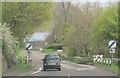 SJ3331 : A495 leaving Whittington eastbound by John Firth