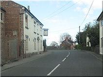 SJ4335 : Sun Inn and junction for Wem by John Firth