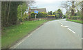 SJ5556 : A49 north at Spurstow by John Firth