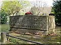 TQ2272 : Here lies the father of the Titanic: the tomb of Bruce Ismay, Putney Vale Cemetery by Stefan Czapski
