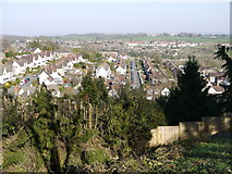 ST5393 : Chepstow Garden City from Mount Pleasant by Ruth Sharville