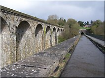 SJ2837 : Chirk viaduct, aqueduct and tunnel by David Martin