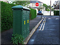 J5181 : Old electricity box, Bangor by Rossographer
