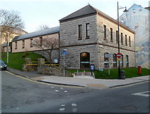 SH4862 : Caernarfon Library by Jaggery