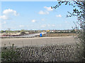 SP8713 : Arla Dairy Site - A New Road under construction by Chris Reynolds