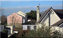 SX9065 : Roofs in Torre by Derek Harper