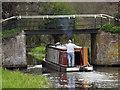 TQ0154 : Ajax at Send Church Bridge by Colin Smith