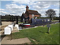 TQ0154 : Narrowboat in Triggs Lock by Colin Smith