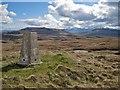 NG3132 : Summit of Beinn nan Dubh-lochan - SE view by Richard Dorrell