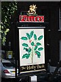 TQ2685 : The Holly Bush sign by Oast House Archive