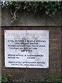 TM1847 : Tuddenham Road Railway Bridge sign by Adrian Cable