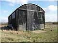 SU4635 : South Wonston - Former Airfield Hangar by Chris Talbot