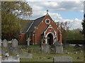 TQ0465 : Addlestone cemetery by Alan Hunt