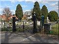 TQ0466 : Chertsey Cemetery by Alan Hunt