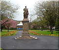 SS7789 : Grade II* listed War Memorial, Port Talbot by Jaggery