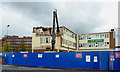 SO9198 : Demolition of the Fox Hotel in Wolverhampton by Roger  Kidd
