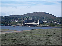 SH7877 : Conwy Castle and Railway Bridge by Kevin Williams