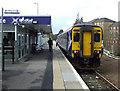 NS6354 : East Kilbride railway station by Thomas Nugent