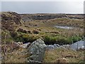 ND2239 : Disused gravel pit, Osclay, Caithness by Claire Pegrum