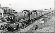 SU5290 : Paddington - South Wales relief express at Didcot by Ben Brooksbank