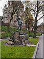 NS7993 : Statue of Rob Roy, Stirling by David Dixon