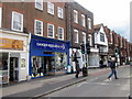 TL1407 : St Albans, Cancer Research UK Shop High Street by Roy Hughes