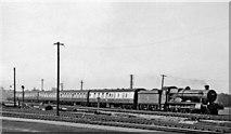 SU5290 : Oxford - Paddington express passing Didcot by Ben Brooksbank