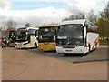 NS3593 : The Coach Park at Luss by David Dixon